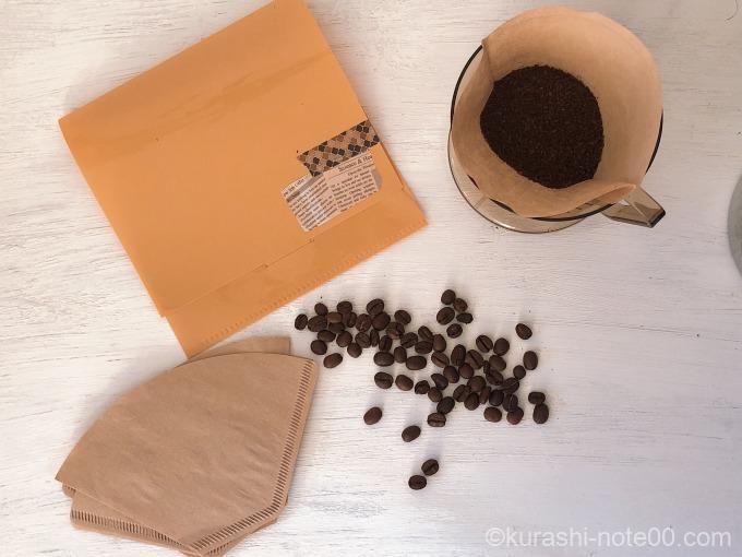 フタ付きタイプのコーヒーフィルターケース