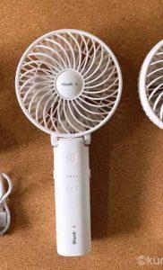 【コストコ】BLANKポータブル扇風機は果たして使えるのか…?使用感を暴露