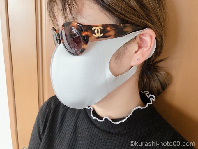 レギュラーサイズのマスク