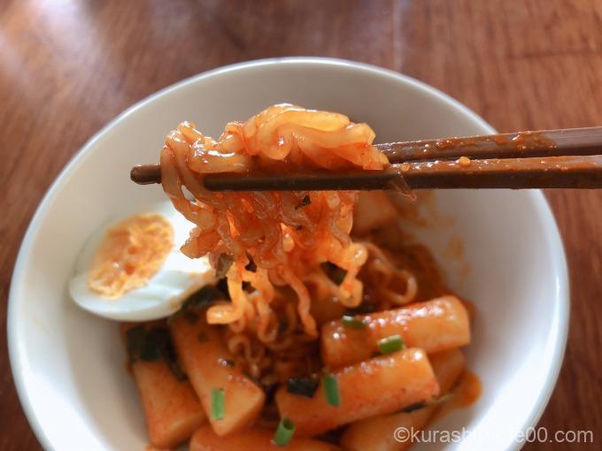 ラッポッキの麺