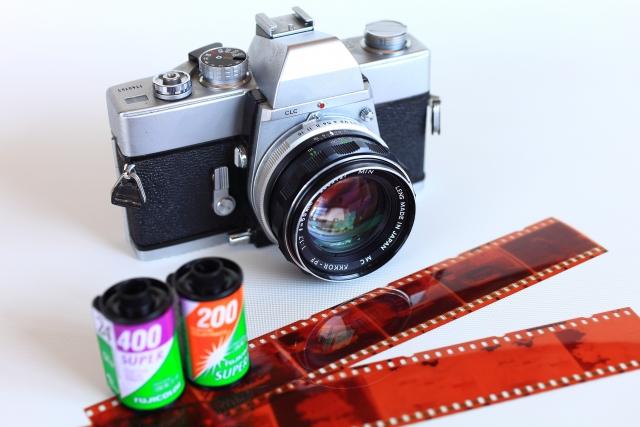 カメラとフィルム