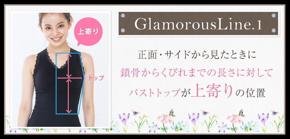 グラマラスタイル着用のポイント