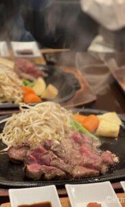 中洲「ステーキの壷」の口コミ!何これ?お肉が口の中でジュージーにとろける