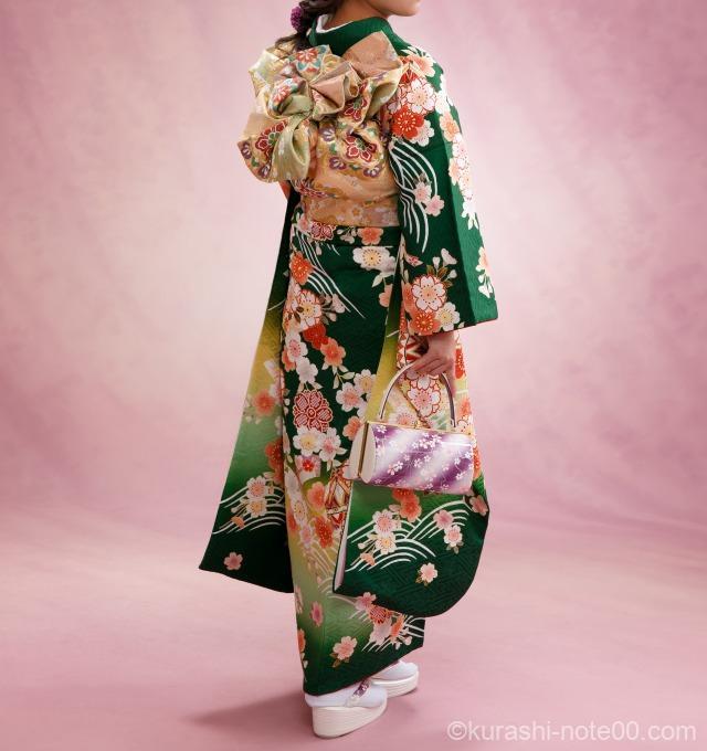 京都きもの友禅で購入した振袖