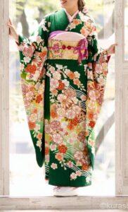 京都きもの友禅の前撮り|杉田写真館でワンランク上の振袖姿を撮影
