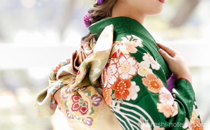 京都きもの友禅の振袖