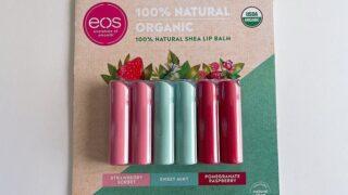 【コストコ総評】EOS(イオス)リップバームスティックセット|シアバターで唇の保湿