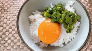 めざましテレビで紹介された「ニラ醤油たまごかけご飯」を作ってみた感想