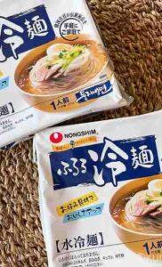 【コストコ】農心ふるる冷麺はストックしておくと便利!生麺と乾麺どっちがおいしい?